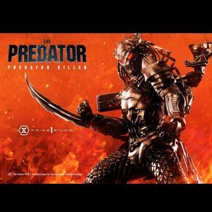The Predator Predator Killer Statue 1/4 Scale Prime 1 Studio UK The Predator memorabilia UK the predator statues UK the predator collectibles UK Animetal