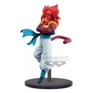 Dragonball Super Son Goku Fes PVC Statue Super Saiyan 4 Gogeta Banpresto UK dragon Ball figures UK dragon ball Super figures UK DBZ Animetal