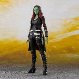 Avengers Infinity War S.H. Figuarts Action Figure Gamora 15 cm Bandai Tamashii Nations UK AVengers action figures UK marvel collectibles UK