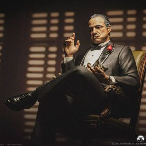 The Godfather Statue Vito Andolini Corleone (1972) 52 cm 1/3 Scale Damtoys UK Animetal the godfather scale statues UK godfather movie merch