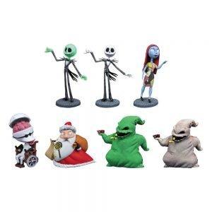 Nightmare Before Christmas D-Formz PVC Figures Series 2 Display (12) diamond select UK Animetal nightmare before christmas figures UK