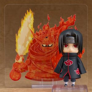 Naruto Shippuden Nendoroid PVC Action Figure Itachi Uchiha Good Smile Company UK Animetal naruto nendoroids itachi nendoroids UK