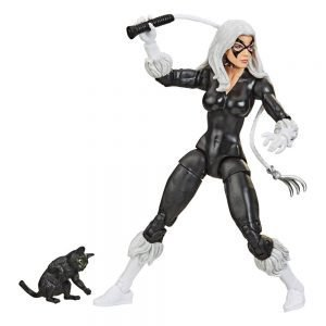 Spider-Man Marvel Retro Collection Action Figure Black Cat Hasbro UK Spider man figures UK spider man statues UK spider man black cat figures UK Animetal