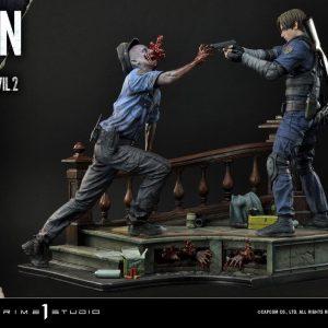 Resident Evil 2 Statue Leon S. Kennedy 58 cm Prime 1 Studio UK resident evil statues UK prime 1 studio statues UK animetal