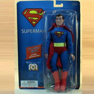 DC Comics Action Figure Retro Superman 20 cm MEGO UK dc comics action figures UK superman action figures UK superman merchandise UK animetal
