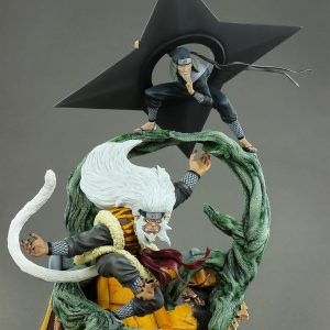 Naruto SANDAIME HOKAGE Resin Statue Diorama Limited 1/6 Scale Oniri Creations UK naruto resin statue oniri creations UK sandaime hokage scale figures UK animetal