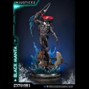 Injustice 2 Statue Black Manta 77cm 1/4 Scale Prime 1 Studio UK Injustice figures UK injustice scale statues UK injustice black manta figures
