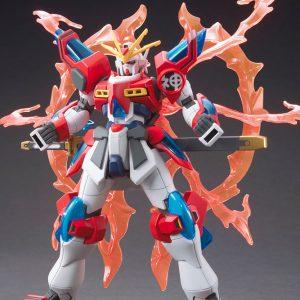 Gundam High Grade: BURNING KAMIKI Model Kit 1/144 Scale Bandai UK gundam high grade model kits UK gundam HG model kits UK animetal