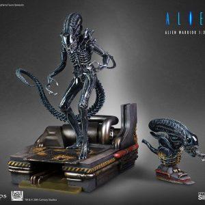Alien Statue 1/3 Alien Warrior Deluxe 74 cm CoolProps UK alien statues UK alien figures UK alien scale statues UK Animetal