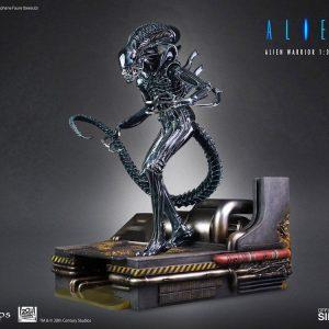 Alien Statue 1/3 Alien Warrior 74 cm CoolProps UK alien statues UK alien figures UK alien scale statues UK Animetal