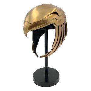 Wonder Woman 1984 Replica 1/1 Golden Armor Helmet full size replica UK wonder woman helmet UK wonder woman helmet full size replica UK