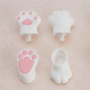 Original Character Parts for Nendoroid Doll Figures Animal Hand Parts Set (White) Good Smile Company UK nendoroid doll parts UK animetal