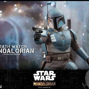 Star Wars The Mandalorian Action Figure 1/6 Death Watch Mandalorian Hot Toys UK star wars figures UK mandalorian figures UK Animetal