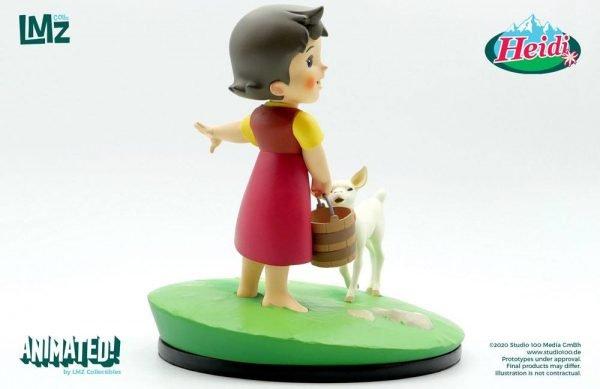 Heidi Statue Heidi & Snowflake - 19 cm LMZ Collectibles UK heidi figures UK heidi statues UK heidi merchandise UK heidi collectibles UK Animetal