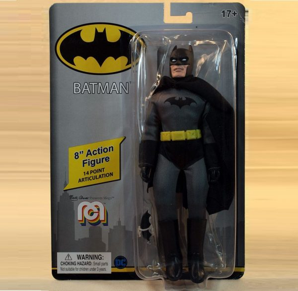 DC Comics Action Figure Retro Batman 20 cm MEGO UK dc comic action figures UK bstman action figures UK batman merchandise UK animetal