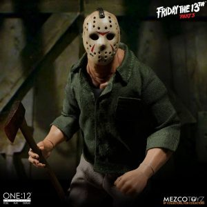 Friday the 13th Part III Action Figure 1/12 Jason Voorhees 16 cm Mezco Toys UK friday the 13th action figures UK friday the 13th jason figure
