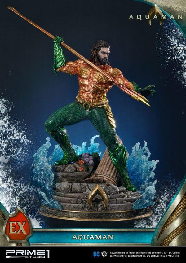 Aquaman Statues Aquaman & Aquaman Exclusive 88cm Assortment (3) Prime 1 Studio UK Aquaman resin statues UK dc comics collectibles UK dc merch