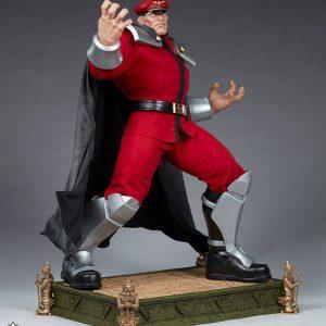 Street Fighter Statue 1/3 M. Bison Alpha 74 cm Pop Culture Shock UK Street Fighter figures UK Street Fighter scale statues UK animetal