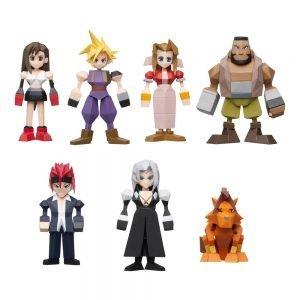 Final Fantasy VII Polygon Figures 4 - 6 cm Assortment (8) Square Enix UK final fantasy figure set UK final fantasy merchandise UK