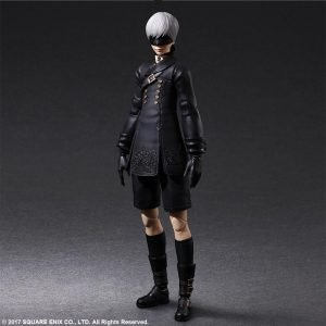 NieR Automata Play Arts Kai Action Figure YoRHa No. 9 Type S square enix UK nier automata 9s square enix action figures UK animetal