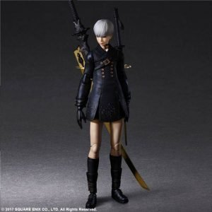 NieR Automata Play Arts Kai Action Figure YoRHa No. 9 Type S Deluxe Square Enix UK nier automata 9s square enix action figures UK animetal
