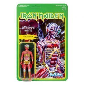 Iron Maiden ReAction Action Figure Somewhere in Time (Album Art) 10 cm UK iron maiden action figures UK iron maiden album cover UK animetal