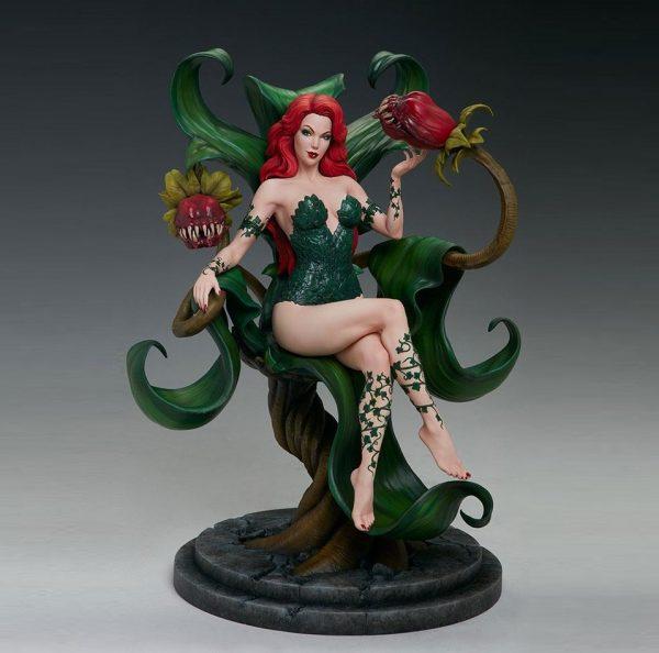DC Comic Maquette Poison Ivy 36 cm Tweeterhead UK DC Comic figures UK poison ivy statues UK poison ivy figures UK animetal