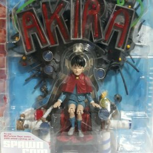 Akira PVC Figure Akira Spawn McFarlane Toys 2001 UK akira vintage figures UK akira diorama figure UK akira mcfarlane figure UK animetal