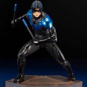 DC Comics Teen Titans Series ARTFX Statue 1/6 Nightwing 25 cm Kotobukiya UK DC figures UK DC statues UK DC Nightwing figures UK Animetal