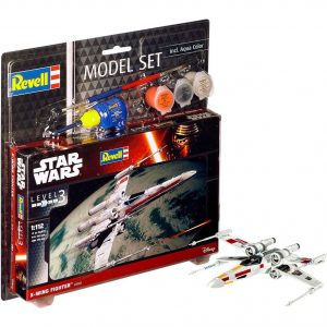 Star Wars Model Kit 1/112 Model Set X-Wing Fighter 11 cm Revell UK Star Wars model kits UK star wars x-wing fighter model kit UK Animetal