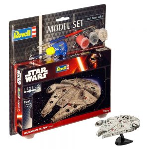 Star Wars Model Kit 1/241 Model Set Millennium Falcon 10 cm Revell UK Star Wars model kits UK star wars Millennium Falcon model kit UK Animetal
