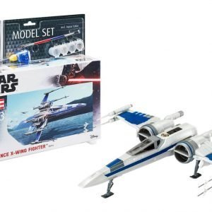 Star Wars Model Kit 1/50 Model Set Resistance X-Wing Fighter 25 cm Revell UK Star Wars model kits UK star wars x-wing fighter model kit UK