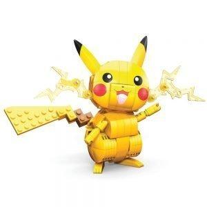 Pokémon Mega Construx Wonder Builders Construction Set Pikachu Mattel UK pokemon construction kits UK pokemon Pikachu construction kit UK Animetal