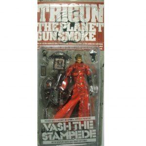 Trigun PVC Action Figure Vash The Stampede Without Sunglasses Ver. Kaiyodo UK Trigun Vash the Stampede Figures UK Trigun Figures UK Animetal