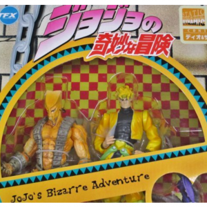 JoJo's Bizarre Adventure Dio and the World Figure Set ARTFX Kotobukiya UK JoJo ARTFX double set vol. 4 jojo anime figures UK animetal