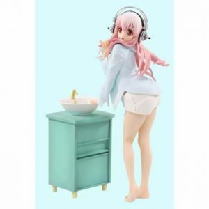 Super Sonico Figure Daily Tasks Morning Ver. FuRyu UK Super sonico soni comi figure Super Sonico Figure FuRyu Super Sonico Statue UK Animetal