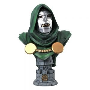 Marvel Comics Legends in 3D Bust 1/2 Doctor Doom 25 cm Diamond Select UK marvel figures UK marvel doctor doom bust UK Animetal