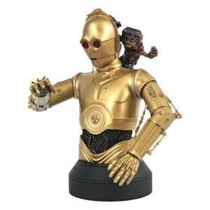 Star Wars Episode IX Bust 1/6 C-3PO & Babu Frik 15 cm Gentle Giant UK Star Wars figures UK star wars c3po figures UK Animetal