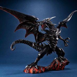 Yu-Gi-Oh! Duel Monsters Art Works Monsters PVC Statue Red-eyes Black Dragon 32 cm Megahouse UK yugioh figures UK yugioh statues UK Animetal