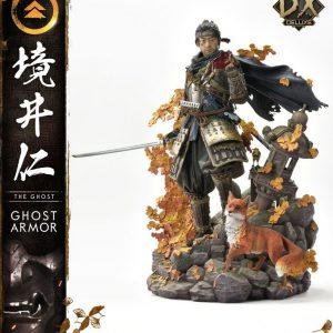 Ghost of Tsushima Statue 1/4 Jin Sakai Deluxe Bonus Version 58 cm Prime 1 Studio UK Ghost of Tsushima figures UK Ghost of Tsushima statues UK