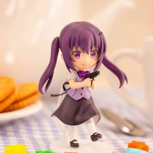 Is the Order a Rabbit Bloom PVC Statue Rize 6 cm Plum UK Is the Order a Rabbit figures UK Is the Order a Rabbit rize figurine UK Animetal