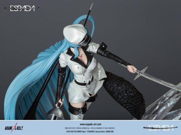 Akame ga Kill! Esdeath 1/6 Scale Statue Limited Edition Espada UK akame ga kill esdeath statues UK akame ga kill statues UK akame ga kill figures UK
