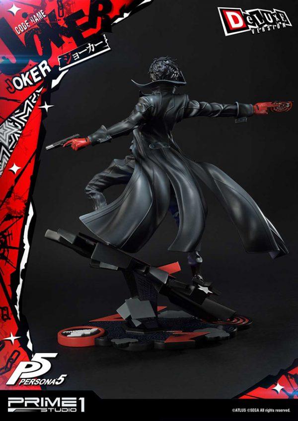 Persona 5 Joker Statue Deluxe 51 cm 1:4 Scale Prime 1 Studio UK Persona 5 Joker resin statue UK persona 5 statues persona 5 joker prime 1 studio statue UK Animetal