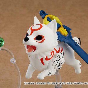 Okami Nendoroid Action Figure Amaterasu DX Version 10 cm Max Factory okami nendoroids UK okami amaterasu nendoroid UK okami max factory figure UK Animetal