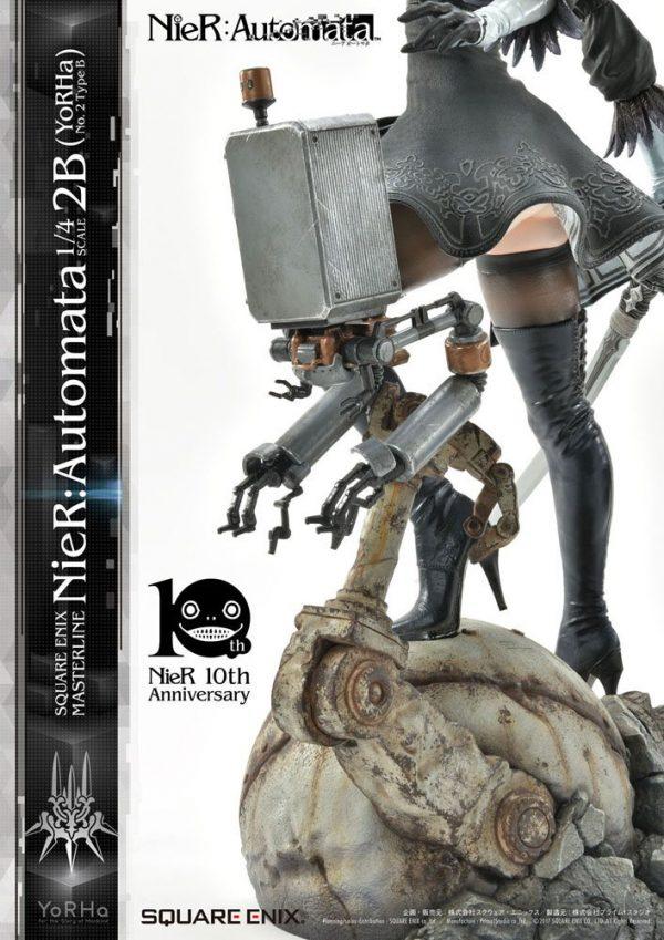 NieR Automata Statue 1/4 2B (YoRHa No. 2 Type B) 62 cm Square Enix UK NieR Automata statues UK nier automata 2b statue square enix UK Animetal