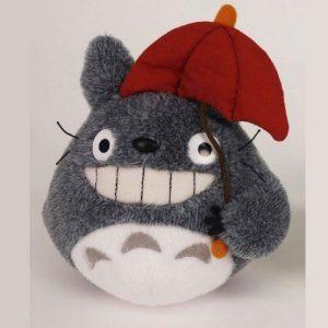 My Neighbor Totoro Plush Figure Totoro Red Umbrella 15 cm UK totoro plushie UK totoro plush UK studio ghibli plushie UK totoro plushie UK Animetal