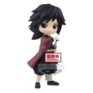 Demon Slayer Kimetsu no Yaiba Q Posket Mini Figure Giyu Tomioka Ver. A Banpresto UK demon slayer giyu tomioka q posket figure UK Animetal