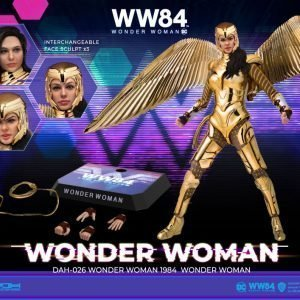 Wonder Woman 1984 Dynamic 8ction Heroes Action Figure 1/9 Wonder Woman Beast Kingdom Toys UK wonder woman statues UK Animetal