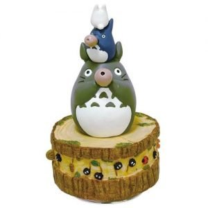My Neighbor Totoro Music Box Totoro's Band 21 cm Benelic UK My Neighbor Totoro figures UK totoro statues UK studio ghibli merchandise UK Animetal