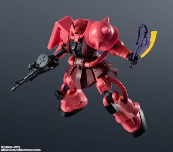 Mobile Suit Gundam Gundam Universe Action Figure MS-06S Char's Zaku II 15 cm Bandai Tamashii Nations UK gundam MS-06S Char's Zaku II action figure UK Animetal